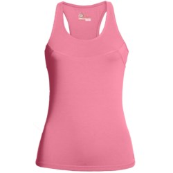 tasc Cape Elizabeth Racerback Tank Top - UPF 50+, Organic Cotton, Built-In Bra (For Women)