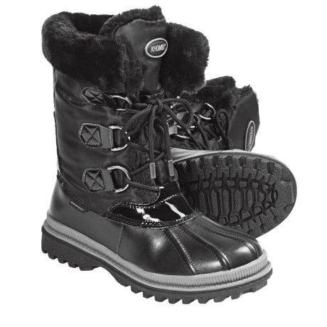 Khombu Birch Low 2 Winter Pac Boots - Waterproof (For Women)