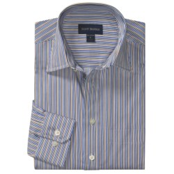 Scott Barber Hadley Stripe Sport Shirt - Cotton, Long Sleeve (For Men)