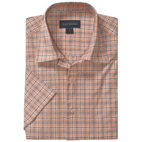 Scott Barber Spencer Camp Shirt - Cotton, Short Sleeve (For Men)