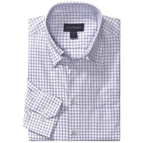 Scott Barber Dermer Sport Shirt - Dobby Check, Long Sleeve (For Men)