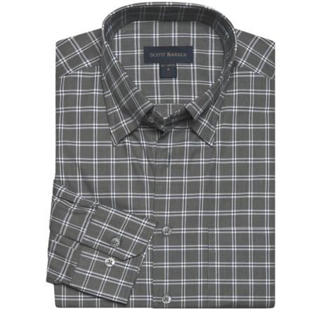 Scott Barber Andrew Sport Shirt - Fancy Check, Long Sleeve (For Men)