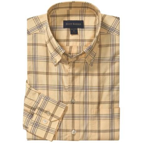 Scott Barber James Sport Shirt - Long Sleeve (For Men)