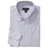 Scott Barber James Dobby Check Sport Shirt - Cotton, Long Sleeve (For Men)