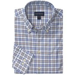 Scott Barber James 4x4 Check Sport Shirt - Twill, Long Sleeve (For Men)