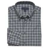 Scott Barber James Fancy Check Sport Shirt - Long Sleeve (For Men)