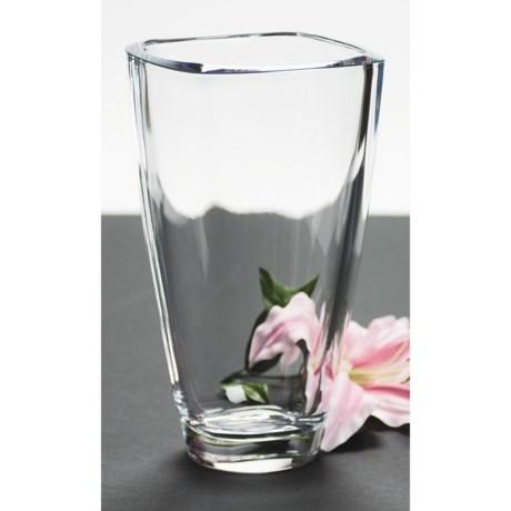 """Nachtmann Carre Vase - 9-3/4"""", Lead Crystal"""