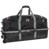 "Athalon Platinum Armored Rolling Duffel Bag - 32"""