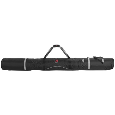 Athalon Wheeled Padded Double Ski Bag - 190cm