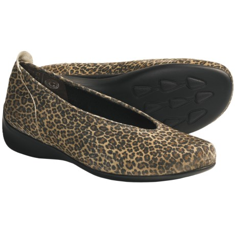 Wolky Ballet Shoes - Leather, Slip-Ons (For Women)