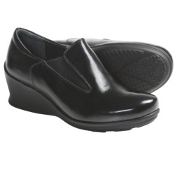 Wolky Aspire Wedge Heel Shoes - Leather (For Women)
