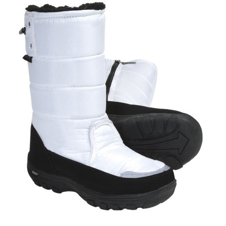 Khombu Snow Walker Winter Boots - Weatherproof (For Youth Boys and Girls)