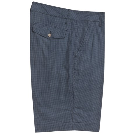 Martin Gordon Cotton Shorts - Small Check (For Men)