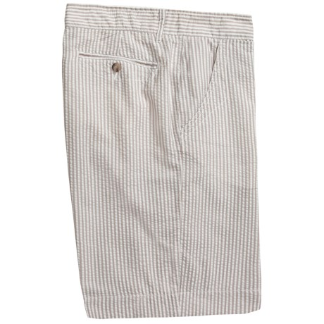 Martin Gordon Seersucker Shorts (For Men)
