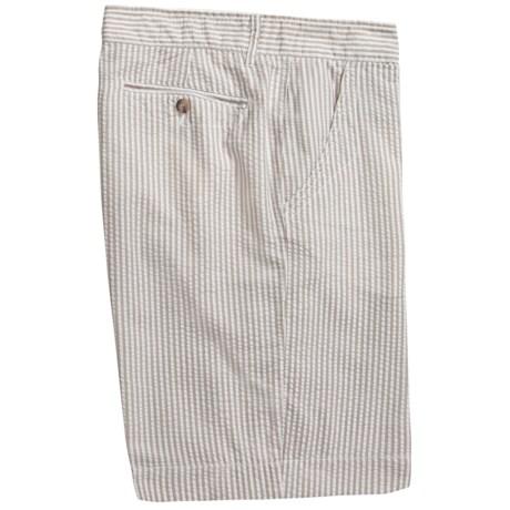 Martin Gordon Seersucker Shorts (For Men)