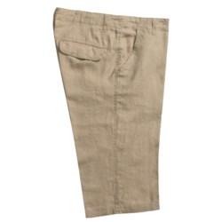 Martin Gordon Linen Shorts (For Men)