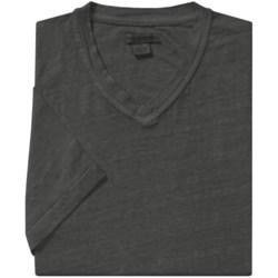 Martin Gordon Linen T-Shirt - V-Neck, Short Sleeve (For Men)