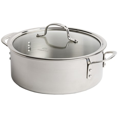 Calphalon Dutch Oven  - Triple-Ply Stainless Steel, 5 Quart