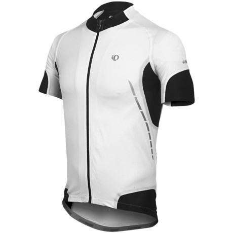 Pearl Izumi P.R.O. Leader Cycling Jersey - UPF 50+, Full Zip, Short Sleeve (For Men)