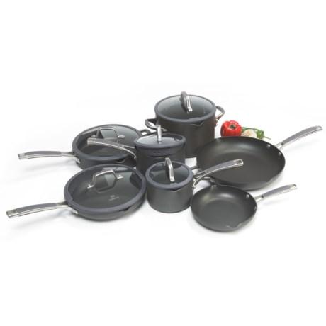 Calphalon Simply Calphalon Easy System Nonstick Cookware Set - 12-Piece