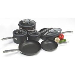 Calphalon Simply Calphalon Easy System Nonstick Cookware Set - 10-Piece
