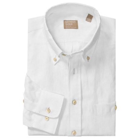 Gitman Brothers Linen Shirt - Long Sleeve (For Men)