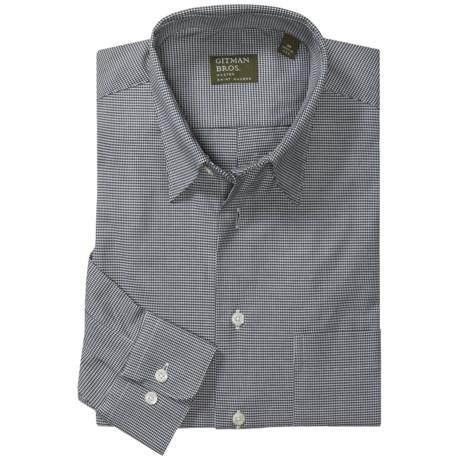 Gitman Brothers Hidden Button-Down Collar Shirt - Long Sleeve (For Men)