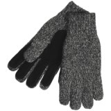 Auclair Ragg Wool Blend Gloves - Pig Suede Palm (For Men)