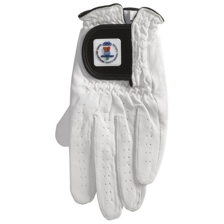 Auclair Vancouver Olympic Winter Games Golf Glove - Leather (For Men)