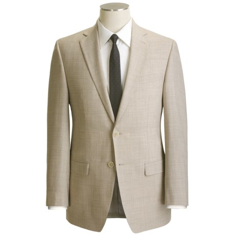 Calvin Klein Wool Blend Suit - Flat Front Pants (For Men)
