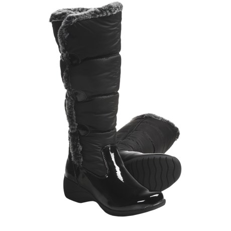 Khombu Snowpuff Button Winter Boots - Weatherproof, Insulated (For Women)
