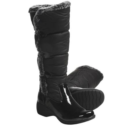 Khombu Snowpuff Button Winter Boots - Weatherproof, Insulated (For Women)