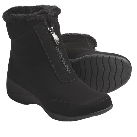 Khombu Maple Zip 4 Winter Boots - Weatherproof (For Women)