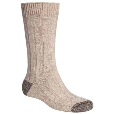 Pantherella Scott Nichol by  Cable Weave Socks - Wool-Cashmere Blend (For Men)