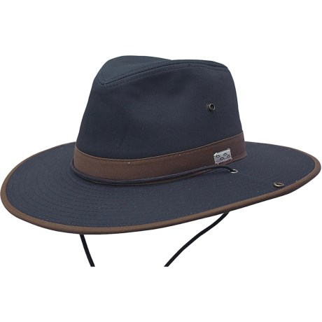 Cov-ver Cov-Ver Brushed Outback Hat - Organic Cotton (For Men and Women)