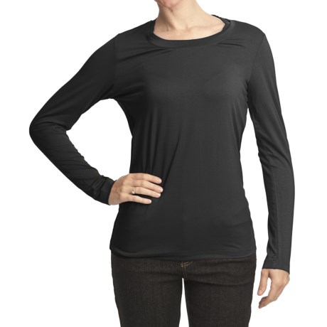 FDJ French Dressing Double Crew Neck Shirt - Long Sleeve (For Women)