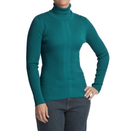 FDJ French Dressing 12-Gauge Turtleneck Sweater (For Women)