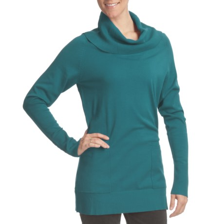 FDJ French Dressing Cowl Neck Tunic Sweater (For Women)