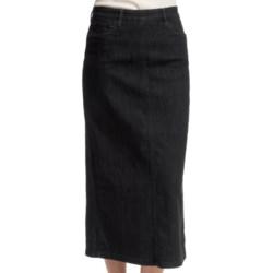 FDJ French Dressing Euro Denim Long Skirt (For Women)