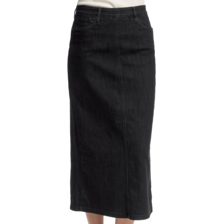 FDJ French Dressing Euro Denim Long Skirt (For Women)