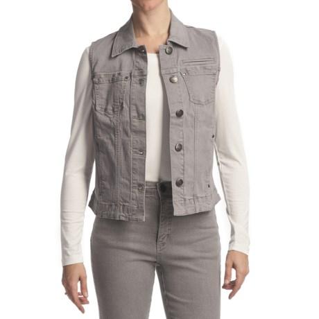 FDJ French Dressing Diamond Denim Vest (For Women)