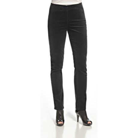 FDJ French Dressing Soft-Spun Corduroy Side-Zip Leggings - Straight Leg (For Women)