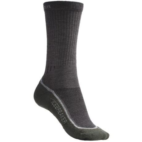Icebreaker Hike+ Medium Cushion Crew Socks - Merino Wool (For Women)