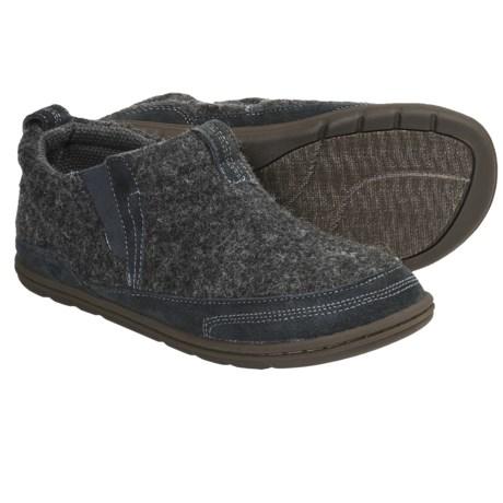 Acorn Mason Boot Slippers - Italian Wool Blend (For Men)