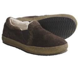 Acorn Transit Moc Slippers - Sherpa Fleece Lining (For Men)