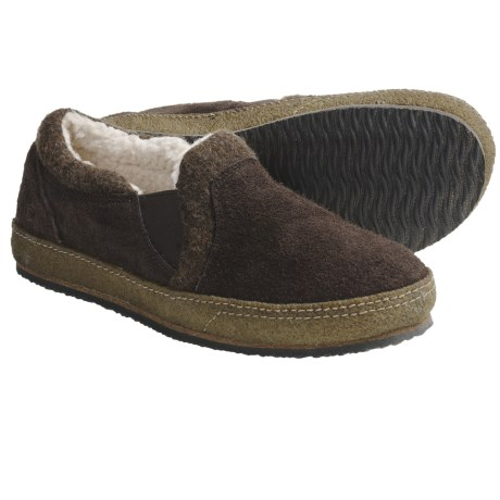 Acorn Transit Moc Slippers - Sherpa Fleece Lining (For Men)