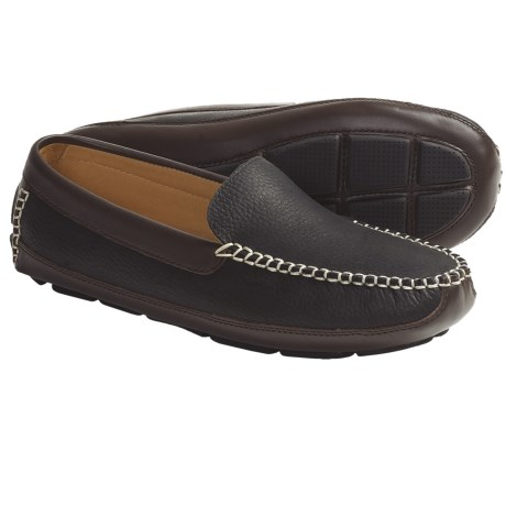 Acorn Mason Moc Slippers - Leather (For Men)