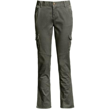Per Se Stretch Cotton Twill Pants - Straight Leg (For Women)