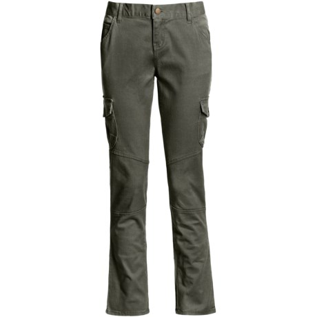 Per Se Stretch Cotton Twill Pants - Straight Leg (For Women)