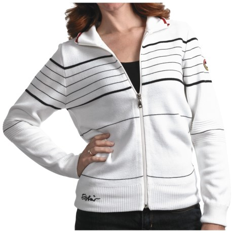 Eisbar Merino Wool Jet Ski Sweater - Zip Front (For Women)